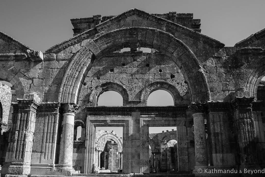 Qala`at Samaan (Basilica of St Simeon) Syria