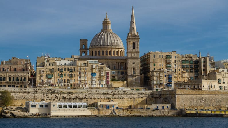 St. Paul's Pro-Cathedral  in Valletta, Malta