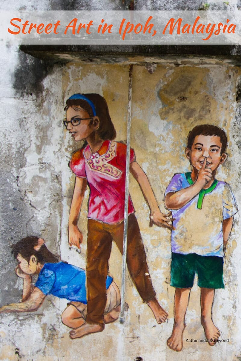 Street Art in Ipoh, Malaysia