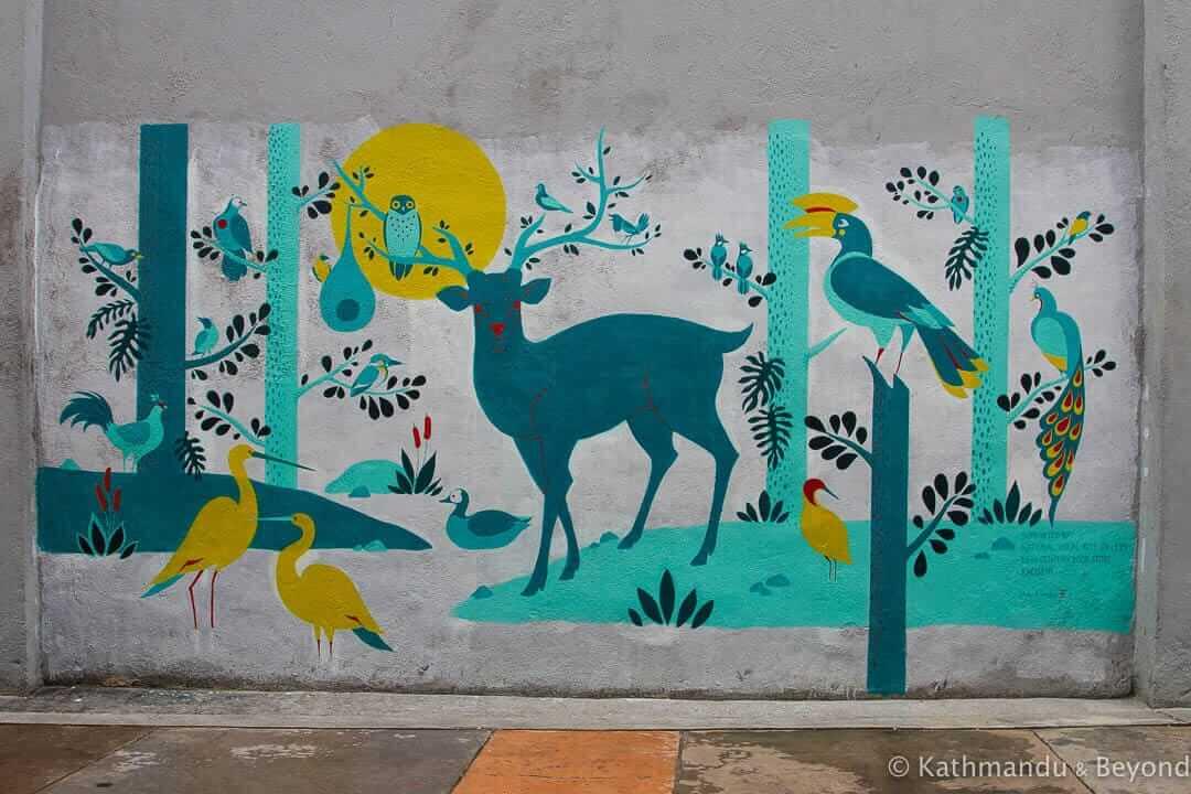 Street Art in Ipoh Old Town, Malaysia