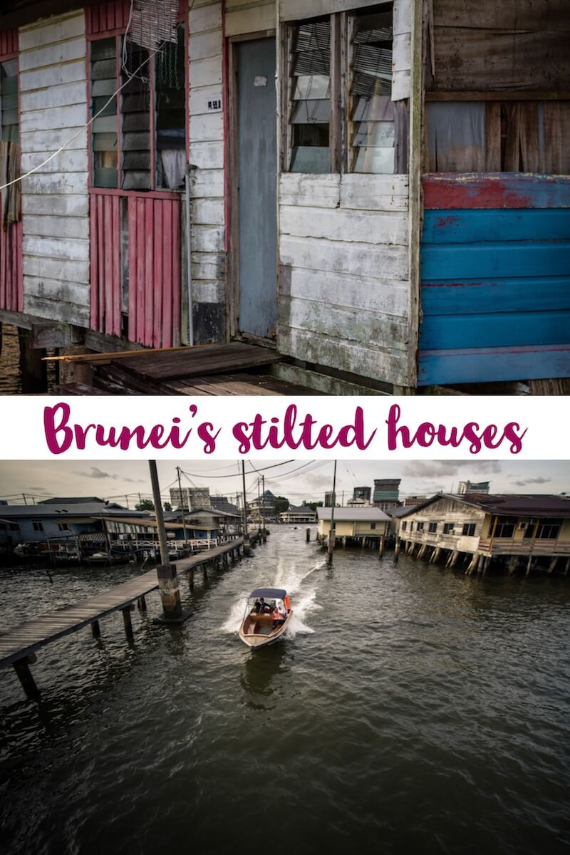 Visiting Kampong Ayer in Brunei