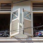 Window Shutters in George Town, Penang   Malaysia