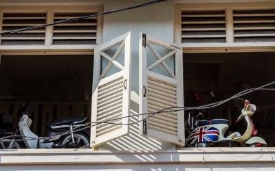 Window Shutters in George Town, Penang | Malaysia