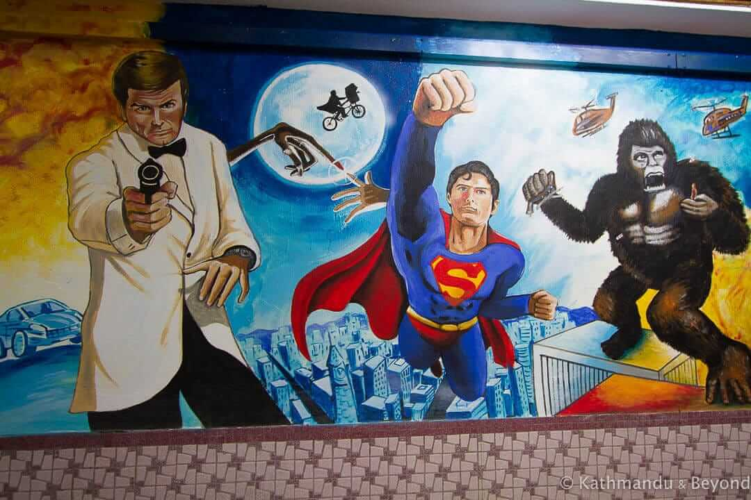 Wisma Chye Hin Indoor Murals - Street Art in Ipoh Old Town, Malaysia