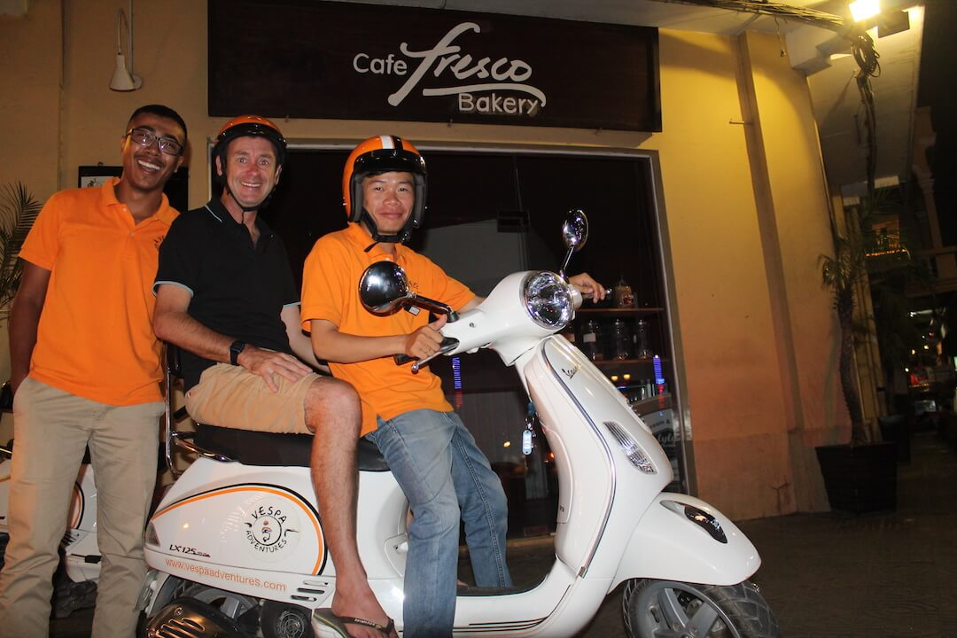 Vespa Adventures Phnom Penh Nightlife Experience FCC