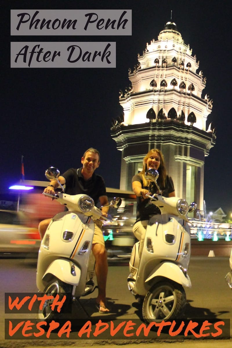 Vespa Adventures Phnom Penh After Dark