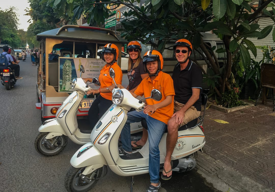 Vespa Adventures Phnom Penh Nightlife Experience