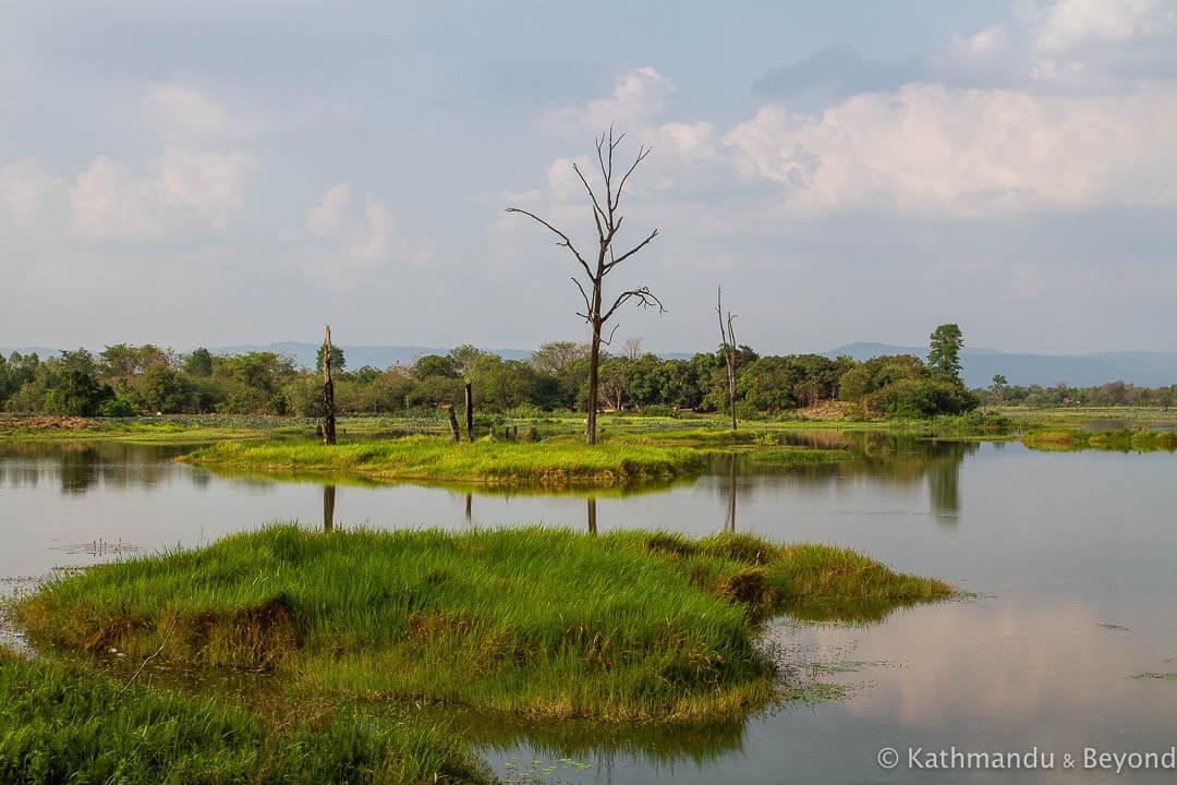 Anlong Veng Lake (Ta Mok's Lake) Anlong Veng Cambodia-2
