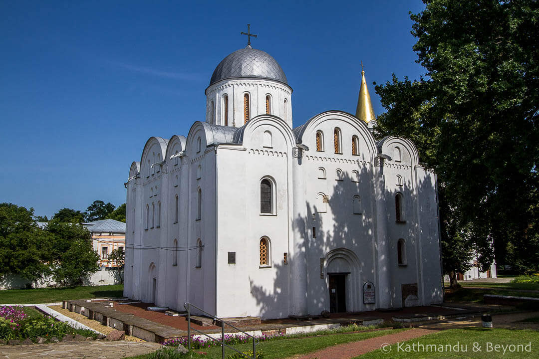 Things to see in Chernihiv - Borysohlibsky Cathedral Dytynets Chernihiv Ukraine