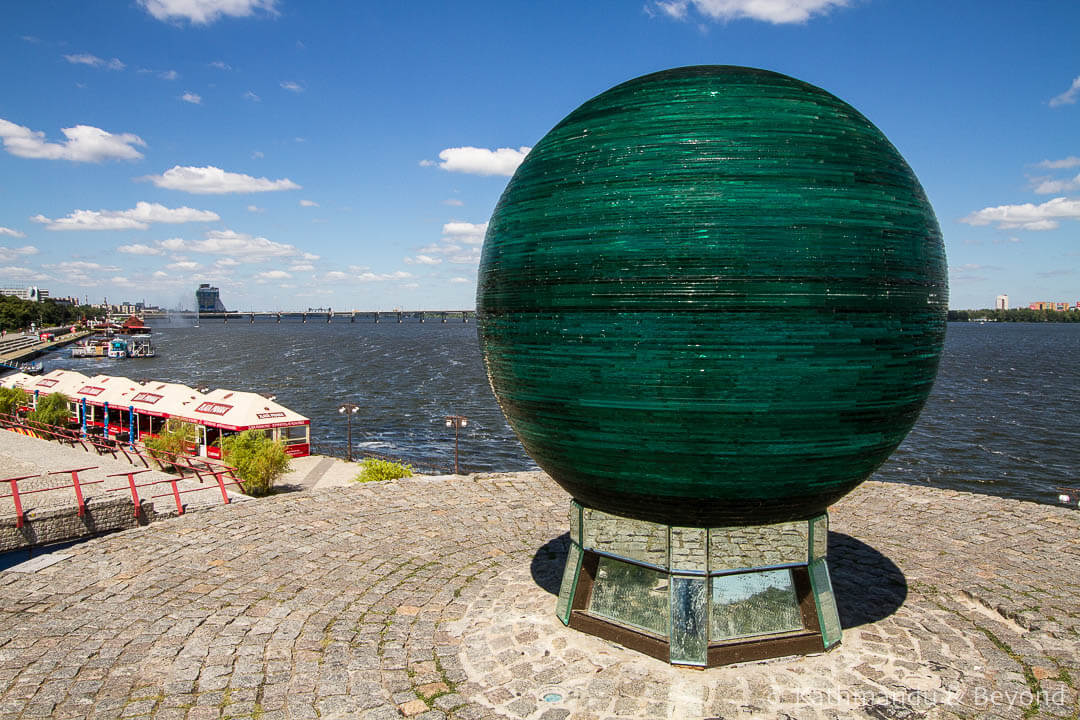 Things to do in Dnipro Ukraine - See the Ball of Desires