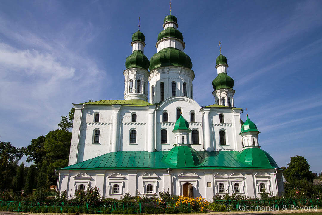 Things to see in Chernihiv - Dormition Cathedral Chernihiv Ukraine