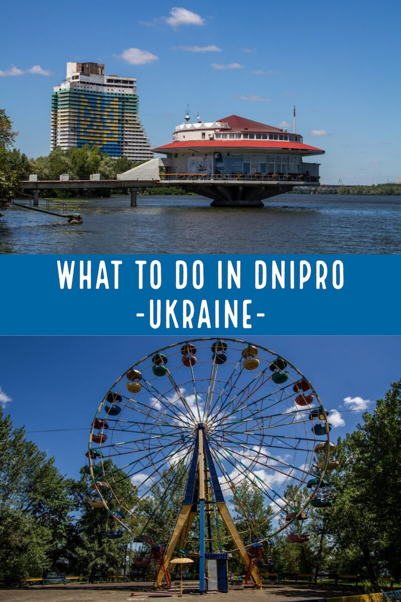 East of the Dnipro and Off the Beaten Path - What to do in Dnipro #Ukraine #travel #europe #offthebeatenpath