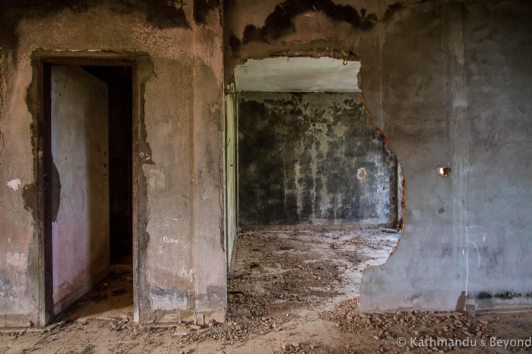 Former military housing Kompong Chhnang Cambodia-10