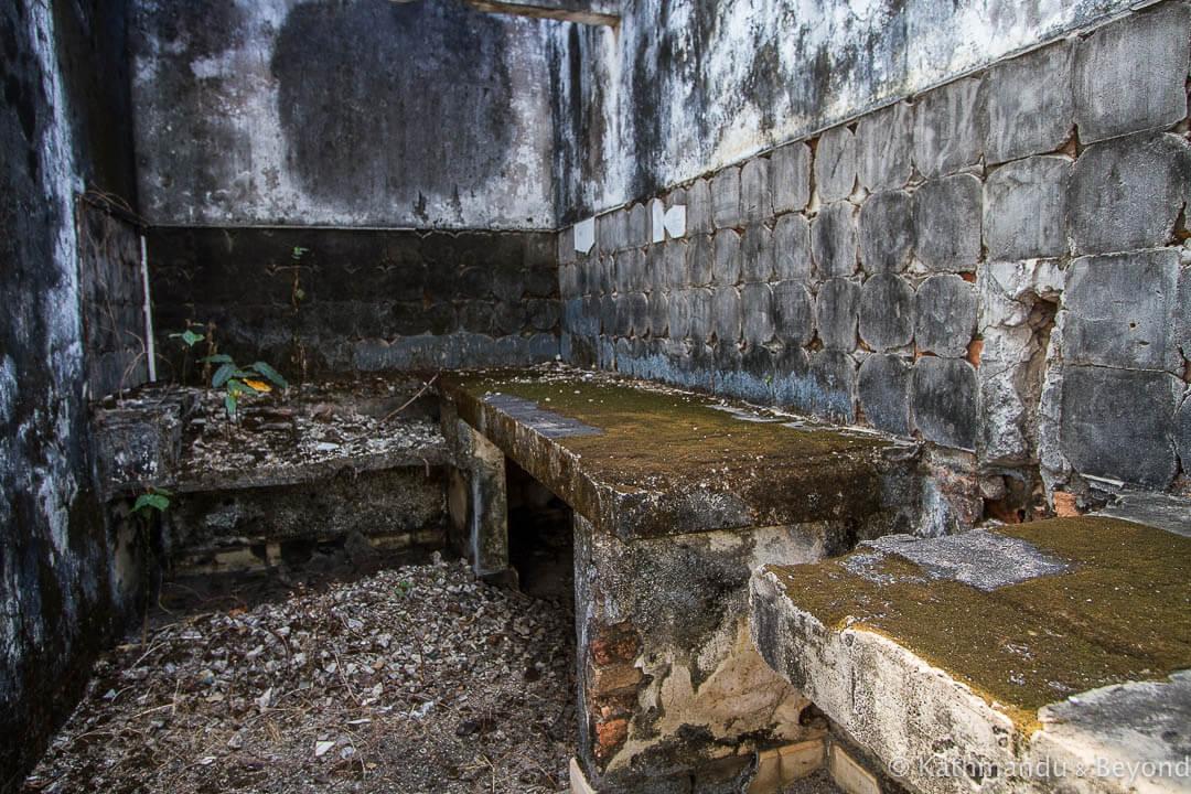 Former military housing Kompong Chhnang Cambodia-9