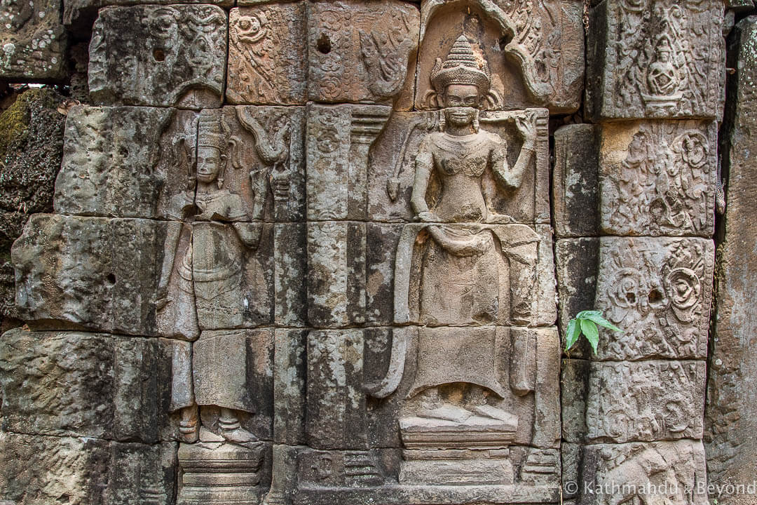 Prasat Damrei (Elephant Temple) Preah Khan Kompong Svay (Prasat Bakan) Cambodia-2
