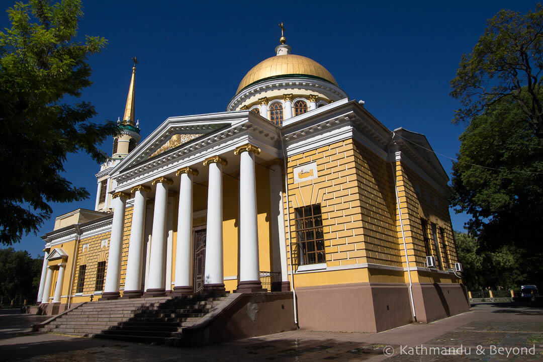 Transfiguration Cathedral Dnipro Ukraine | Things to do in Dnipro Ukraine
