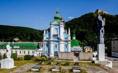 Where to break the journey between Kiev and Lviv, Ukraine
