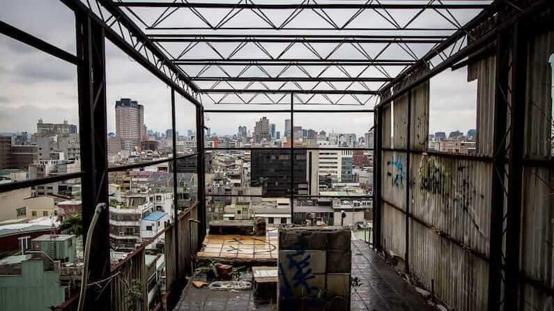 Abandoned Taiwan: The Qianyue building in Taichung