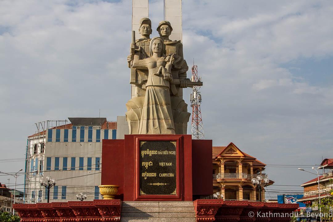 Cambodia-Vietnam Friendship Monument Kompong Chhnang Cambodia-2