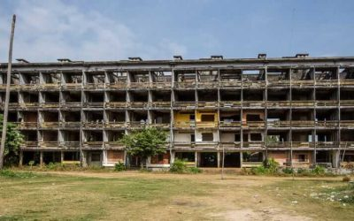 Abandoned Cambodia: Former Military Housing in Kompong Chhnang