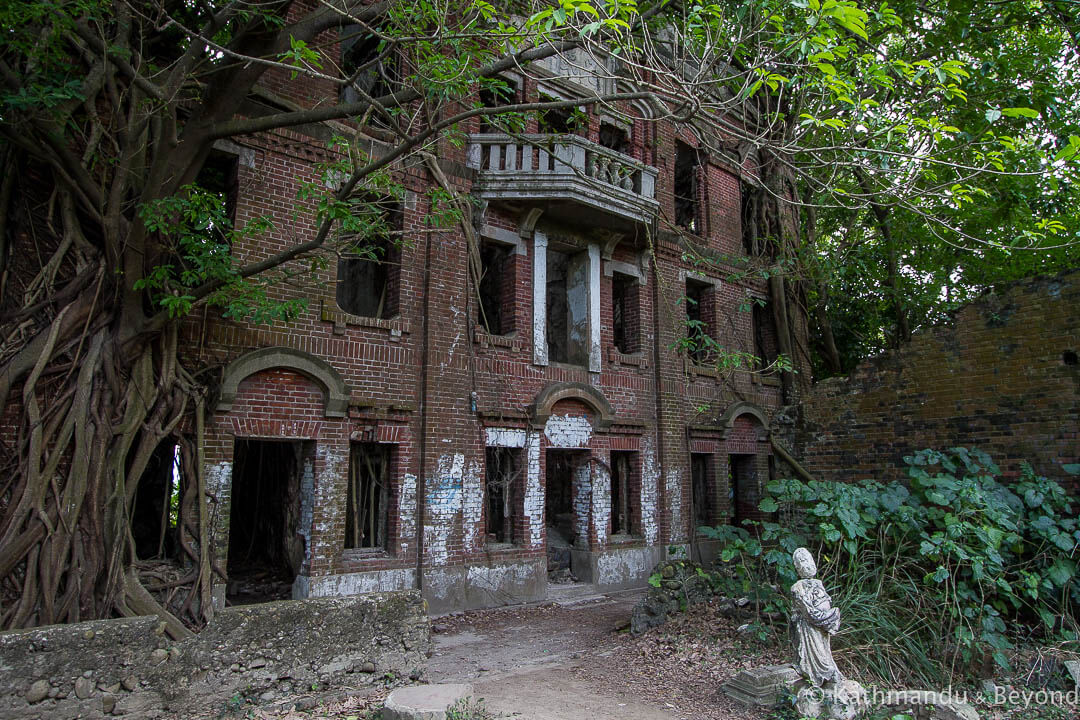 Old Liu Family Mansion Minxiong Township Chiayi Taiwan