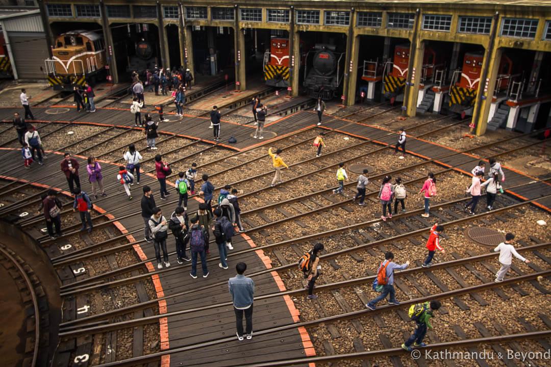 Train Garage Changhua Taiwan-14