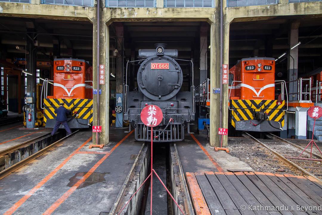 Train Garage Changhua Taiwan-3