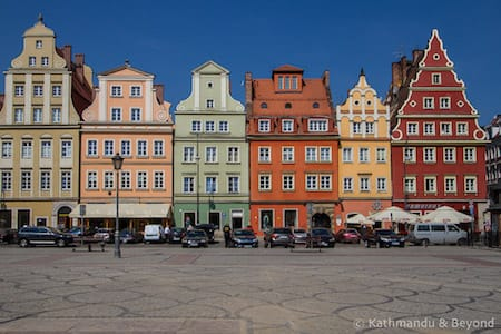 Travel Blog with posts featuring Poland