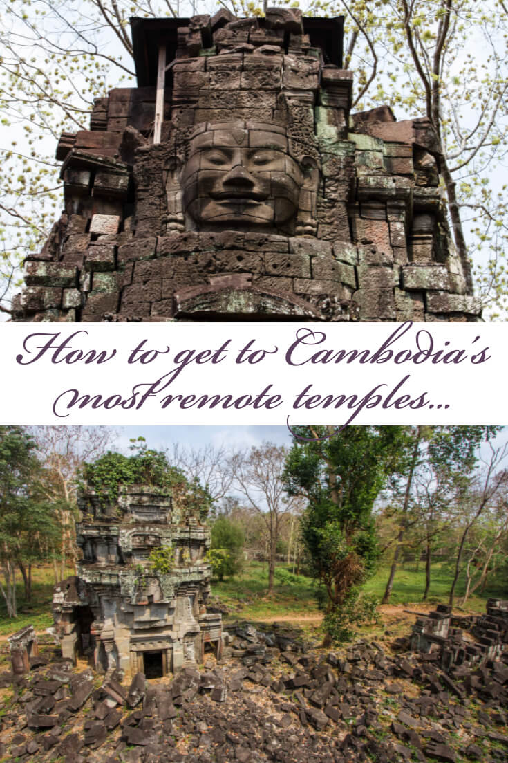 Travel Off the Beaten Path in Cambodia: Visiting the Angkorian temple of Preah Khan Kompong Svay