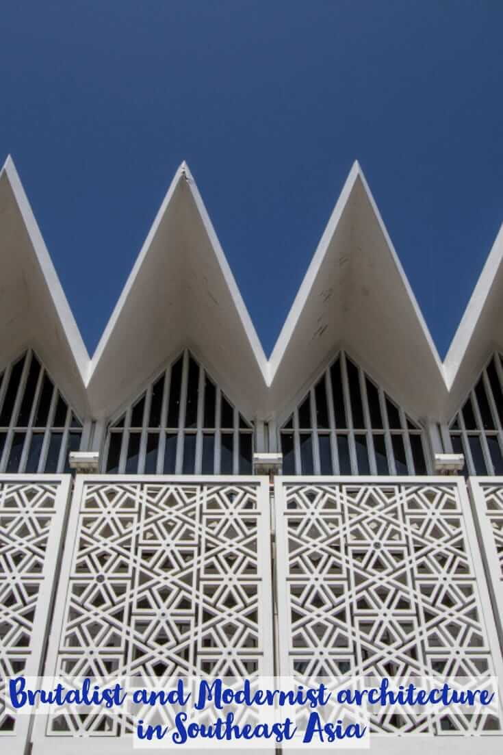 Brutalist and Modernist #architecture in Southeast Asia #travel #southeastasia #brutalism #design
