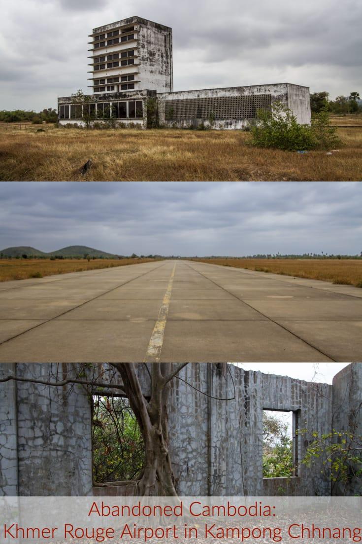 Abandoned Cambodia - Former Khmer Rouge airport in Kampong Chhnang