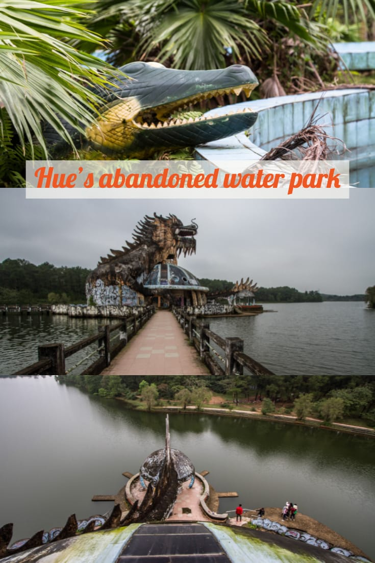 Abandoned Water Park in Hue, Vietnam