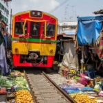 How to visit to Thailand's Maeklong Railway Market independently