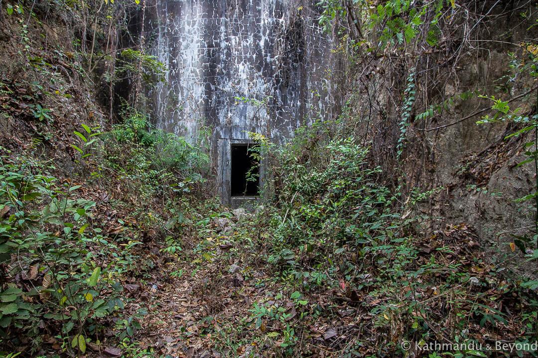 Former Khmer Rouge water tanks Kampong Chhnang Cambodia-9