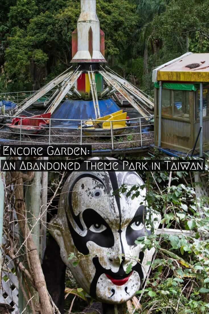 Abandoned Taiwan: Visiting Encore Garden, an abandoned theme park in Taichung, Taiwan #travel #Taiwan #abandaoned #URBEX #urbandecay #Asia