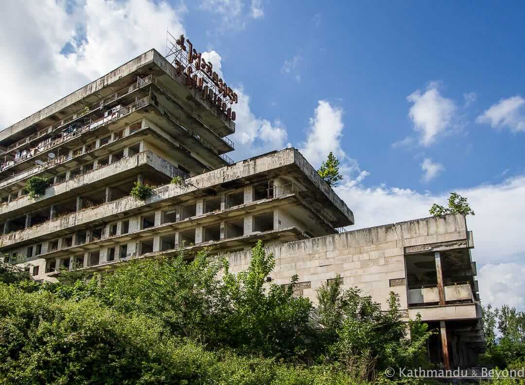 Sanatorium Sakartvelo Tskaltubo Georgia | Abandoned Soviet Spa