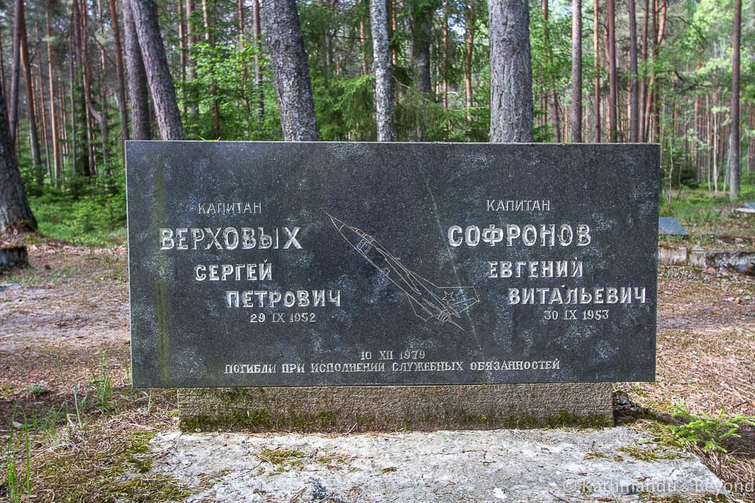 Amari Pilots Cemetery Amari Estonia-6