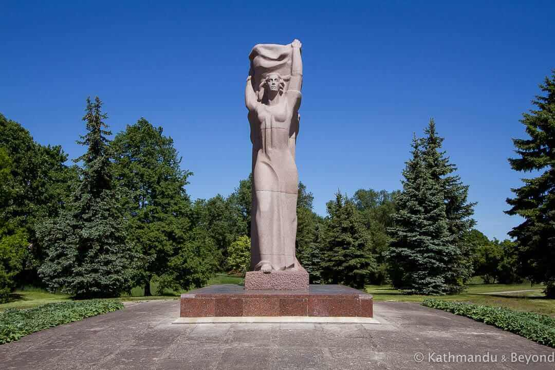 Freedom Monument Panevezys Lithuania