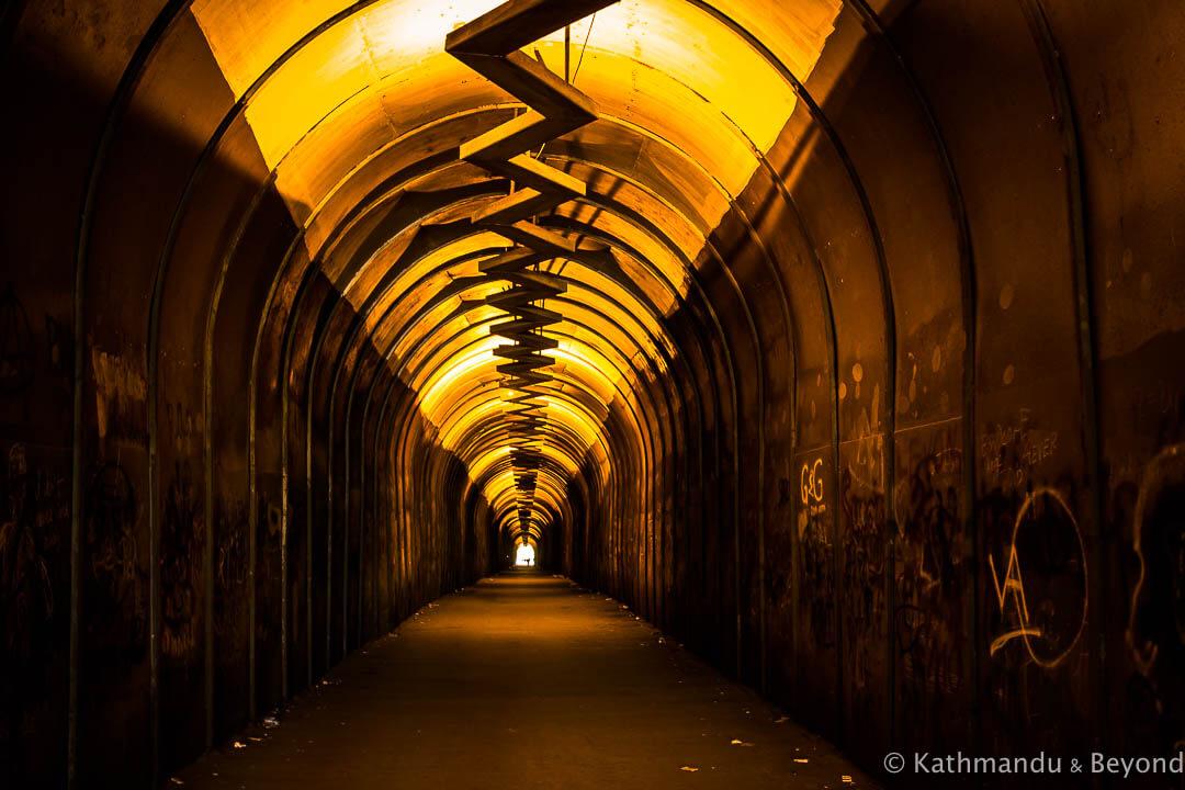 Kond Pedestrian Tunnel Yerevan Armenia