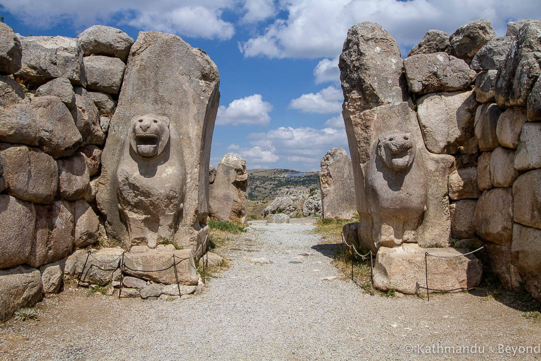 Lion Gate Hattusa Turkey_-2