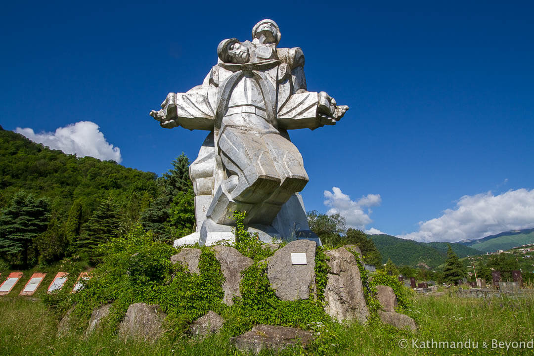 Monument to the Great Patriotic War Dilijan Armenia-16