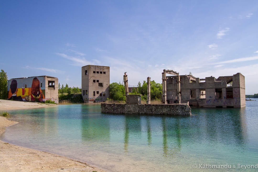 Rummu Quarry (Rummu Underwater Prison) Rummu Estonia-3