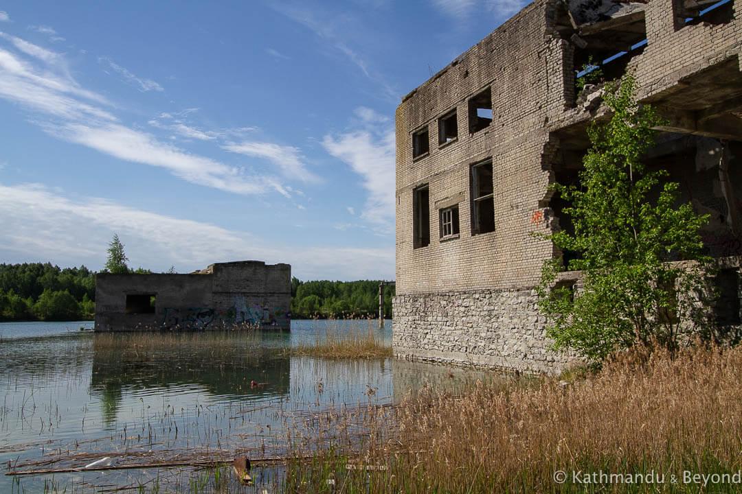 abandoned estonia  rummu prison