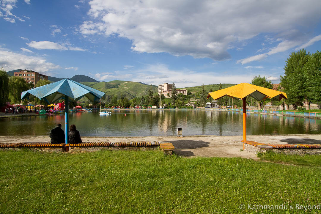 Sanatorium Lake Vanadzor Armenia