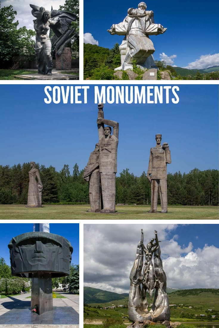 Soviet Monuments #travel #monuments #WW2 #Soviet