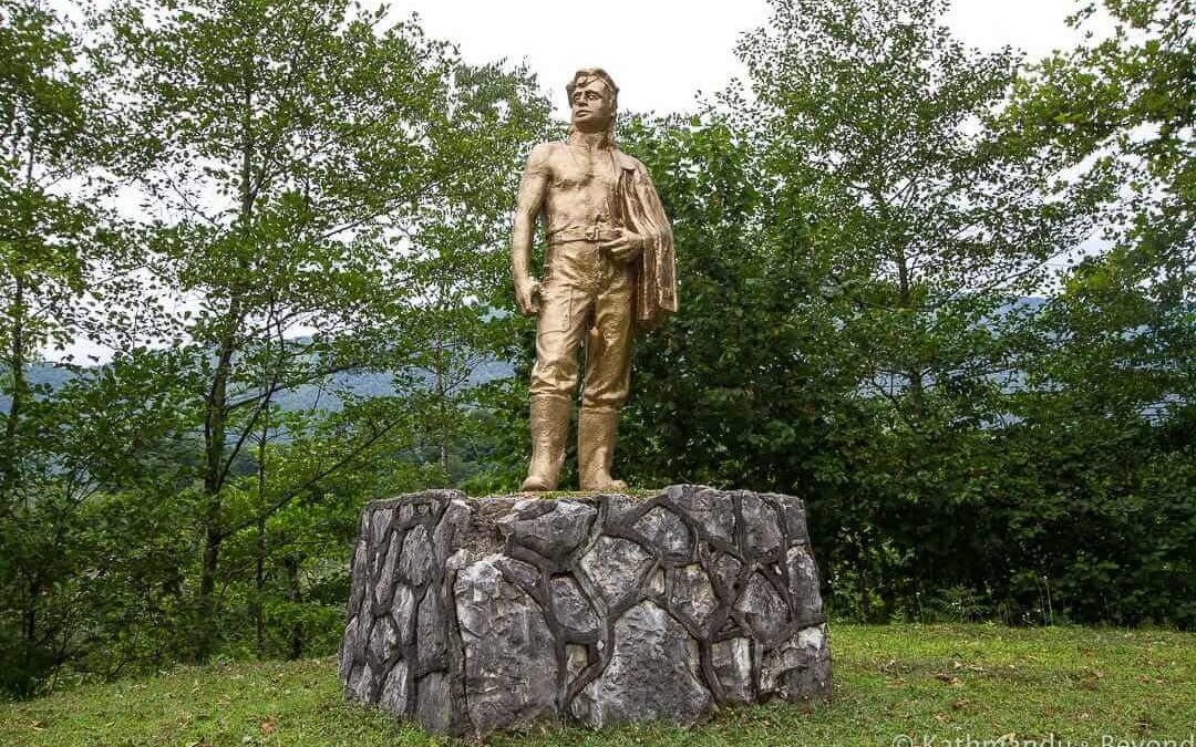 Monument to the Miner