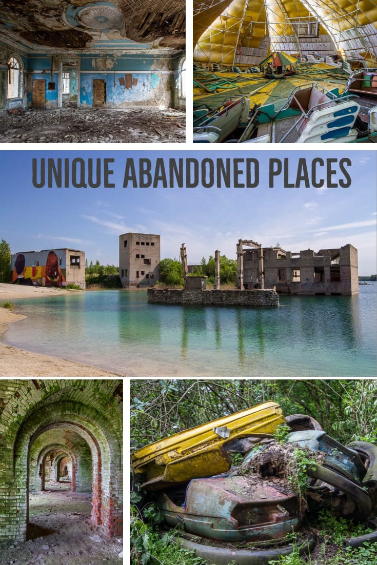 Unique Abandoned Places #travel #URBEX #abandonedplaces #abandoned