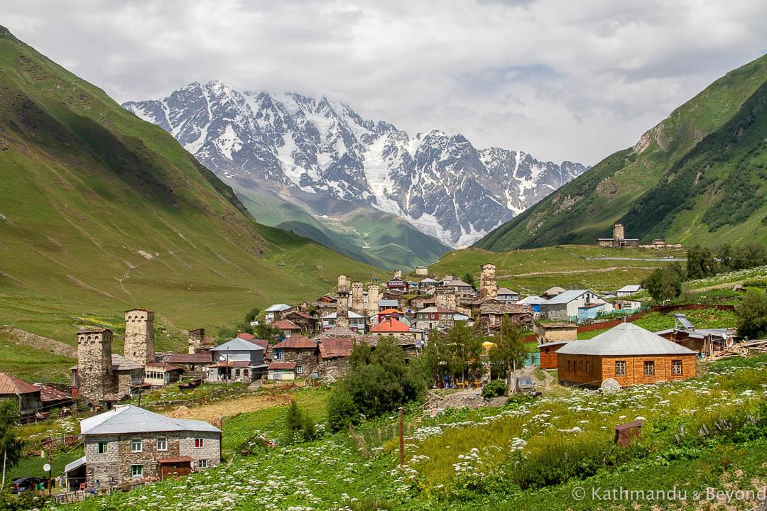 Travel Shot | Ushguli Village in Upper Svaneti, Georgia