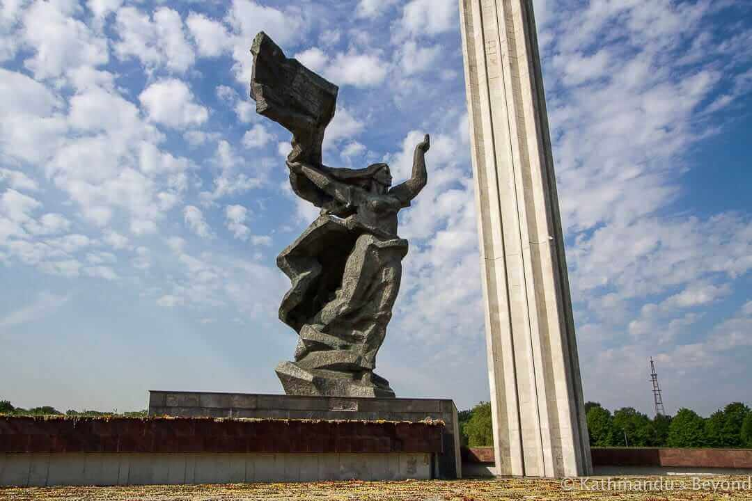 Victory Memorial to Soviet Army Riga Latvia-5