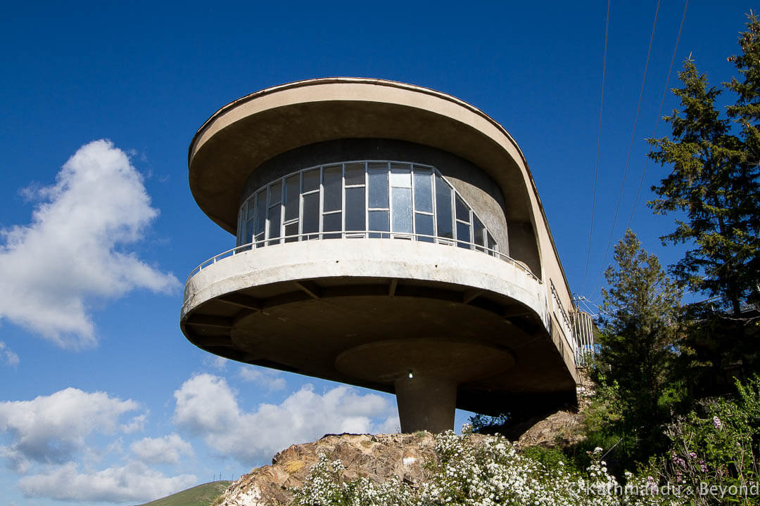 Writer's Resort (Guesthouse of the Armenian Writers' Union) on Lake Sevan, Armenia | Modernist | Soviet architecture | former USSR